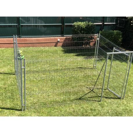 """kit enclos standard de 12,5 m² """"houston"""""""