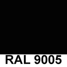 Noir RAL 9005 Brillant